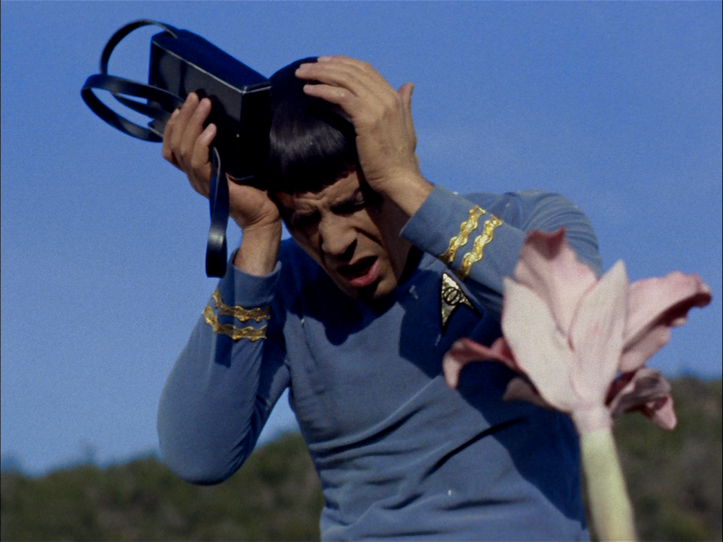 """Image result for This Side of Paradise spores attack spock"""""""